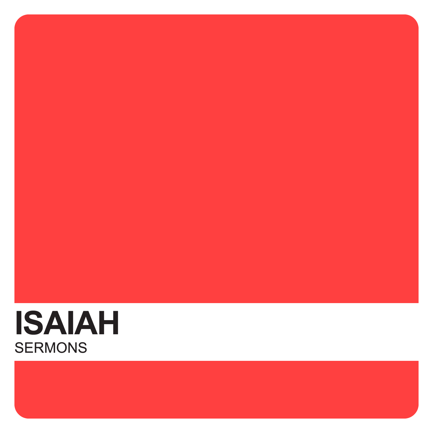 Isaiah Sermons – Covenant United Reformed Church